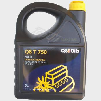 Q8 T 750 15W-40