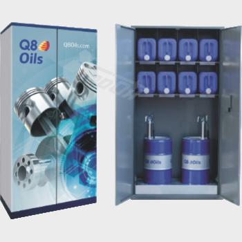 Q8 Skříň na oleje